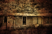 Abandoned Houses Prints - The Abandoned Print by Emily Stauring