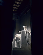 Ministers Framed Prints - The Abraham Lincoln Statue Framed Print by Rex A. Stucky