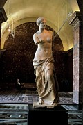 Greek Sculpture Posters - The Admirer Poster by Chris  Brewington Photography LLC