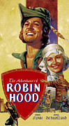 Adventures Posters - The Adventures Of Robin Hood, Errol Poster by Everett