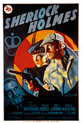 Adventures Posters - The Adventures Of Sherlock Holmes Poster by Everett