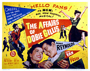 Dobie Posters - The Affairs Of Dobie Gillis, Debbie Poster by Everett