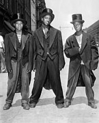 Unrest Photo Framed Prints - The African American Teenagers Framed Print by Everett