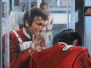 Spock Paintings - The Agony of Loss by Kim Lockman