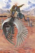 Rodeo Paintings - The Air Marshal by Jeff Brimley