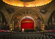 Movie Theater Framed Prints - The Alabama Theatre, Birmingham Framed Print by Everett