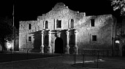 Revolutionary Photo Framed Prints - The Alamo Panorama Framed Print by Jim Chamberlain