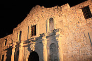 The Alamo Framed Prints - The Alamo Perspective Framed Print by Carol Groenen
