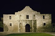 American Icons Prints - The Alamo, San Antonio, Texas. It Print by Everett