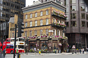 City Photography Digital Art - The Albert Pub London by Donald Davis