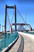 Freeway Digital Art - The Alfred Zampa Memorial and Carquinez Bridges . 5D16833 by Wingsdomain Art and Photography