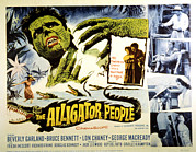 1959 Movies Framed Prints - The Alligator People, Richard Crane Framed Print by Everett