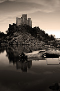 Castle Photo Originals - The Almourol Castle by Dias Dos Reis