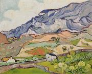 Provence Posters - The Alpilles Poster by Vincent Van Gogh