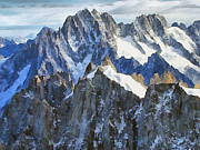 Alps Images Posters - The Alps Poster by Odon Czintos