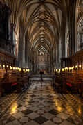 Cathedral Prints - The Altar Print by Adrian Evans