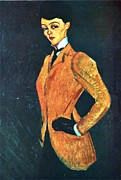 Modigliani Prints - The Amazon Print by Pg Reproductions