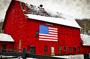 Barn Digital Art - The American Dream by Bill Cannon