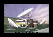 Satellite Posters - The American Dream Poster by Mike McGlothlen