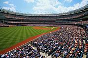 Yankee Stadium Photos - The American Game by Mitch Cat