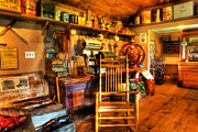 Buy Goods Framed Prints - The American General Store -  - vintage - nostalgia Framed Print by Lee Dos Santos