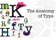 Aperture Digital Art - The Anatomy of Type by Karissa DeYoung