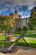 Battlements Prints - The Anchor Print by Adrian Evans