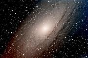 Sci-fi Posters - The Andromeda Galaxy Close  Up Poster by Jim DeLillo