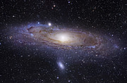 Galaxy Posters - The Andromeda Galaxy Poster by Robert Gendler
