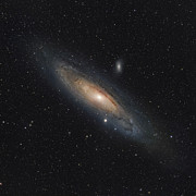 Elliptical Galaxy Posters - The Andromeda Galaxy Poster by Rolf Geissinger