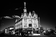 Drapery Photo Prints - The Angel building ogg brothers drapery warehouse landmark in govan Glasgow Scotland UK Print by Joe Fox