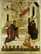 Russian Icon Photos - The Annunciation by Granger