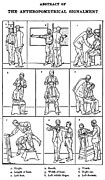 Law Enforcement Art Photo Framed Prints - The Anthropometrical Signalment, 1896 Framed Print by Science Source
