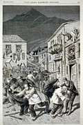 1880s Prints - The Anti-chinese Riot In Denver Print by Everett