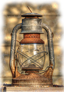 Kerosene Lamps Prints - The Antique Print by Lisa Moore