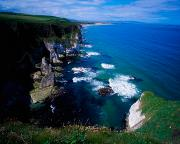 Antrim Photos - The Antrim Coast, Co Antrim, Ireland by The Irish Image Collection