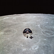Outer Space Photos - The Apollo 10 Command And Service by Stocktrek Images