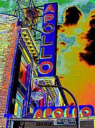 Harlem Digital Art Metal Prints - The Apollo Metal Print by Steven Huszar