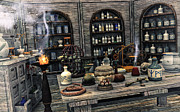 Mortar Art - The Apothecary by Jutta Maria Pusl