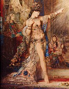 Moreau Paintings - The Apparition by Pg Reproductions