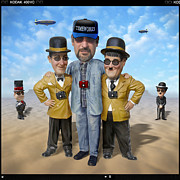 Humorous Art Framed Prints - The Apprentice  Framed Print by Mike McGlothlen