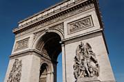 The Arc De Triomphe Print by D Plinth