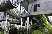 Tourist Photos - The area below the capsules of the Singapore Flyer by Ashish Agarwal