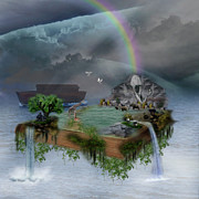 Noahs Ark Digital Art - The Ark by Lisa Evans
