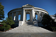 Entrance Memorial Photography Posters - The Arlington Memorial Amphitheater Poster by Terry Moore