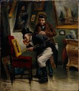 Gentleman Photos - The Art Dealer by H Jahn