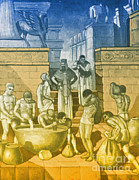 Babylon Photo Posters - The Art Of Brewing, Babylon Poster by Science Source