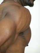 African American Nude Photos - The Art of Muscle Pecs Plus by Jake Hartz