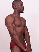 African American Nude Photos - The Art of Muscle The Pose by Jake Hartz