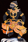 Anusorn Sanaphanthu - The art of Ramayana